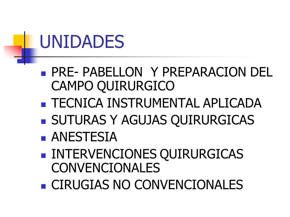 OBJETIVO GENERAL Aplicar técnicas y procedimientos específicos en el acto quirúrgico y la preparación del paciente quirúrgico, con la habilidad y destreza requerida