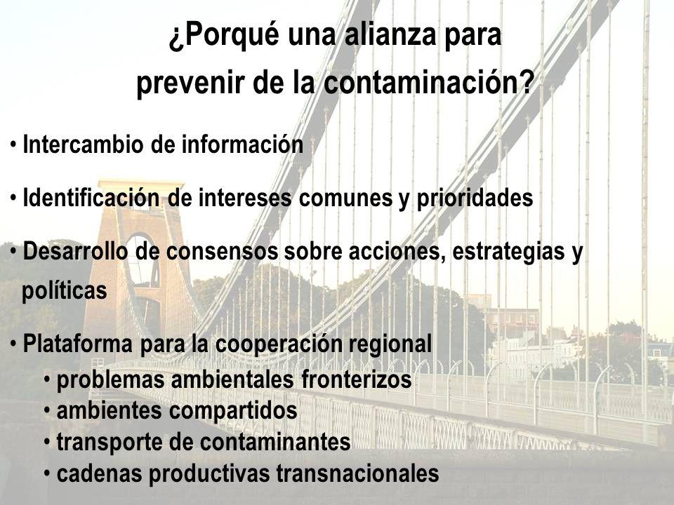 Intercambio de información Identificación de intereses comunes y prioridades Desarrollo de consensos sobre acciones, estrategias y políticas Plataform