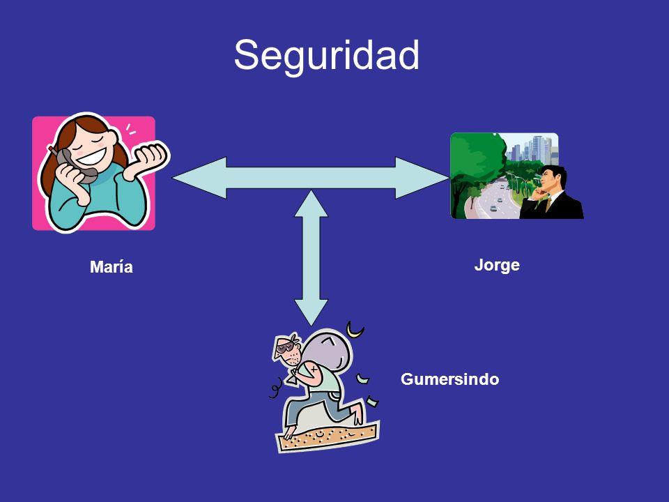 Seguridad María Jorge Gumersindo
