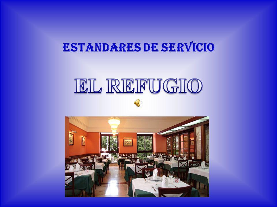 SERVICIO RUSO Este servicio es muy formal y elegante, ofrece atención personalizada a cada cliente.