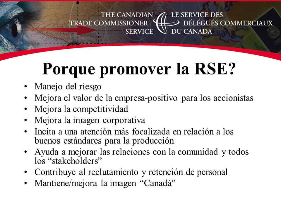 Porque promover la RSE.