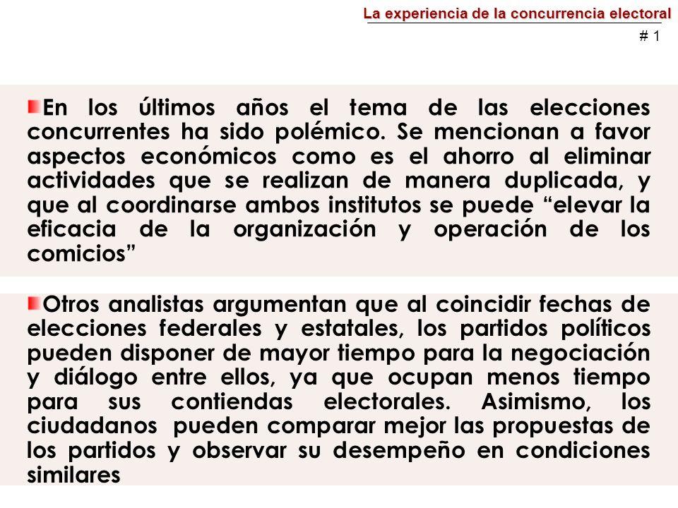 Cuadro 3 Participación en las entidades, 2003 Fuente: Instituto Federal Electoral, 2006 # 12