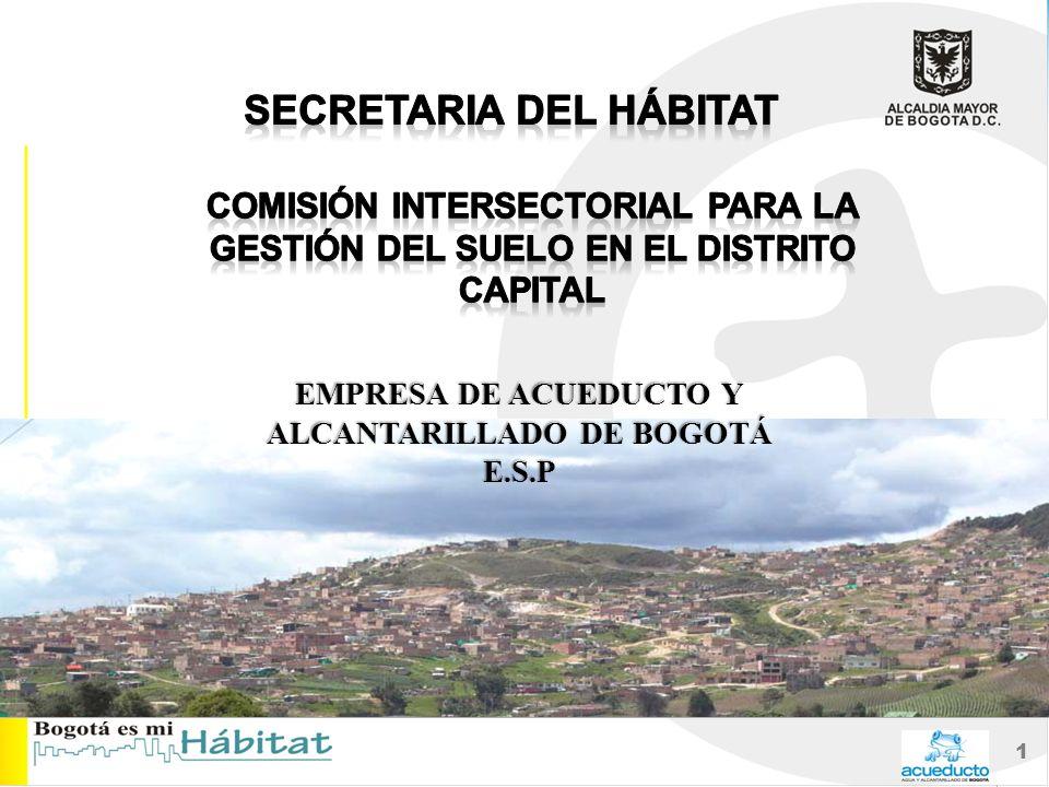 1 EMPRESA DE ACUEDUCTO Y ALCANTARILLADO DE BOGOTÁ E.S.P