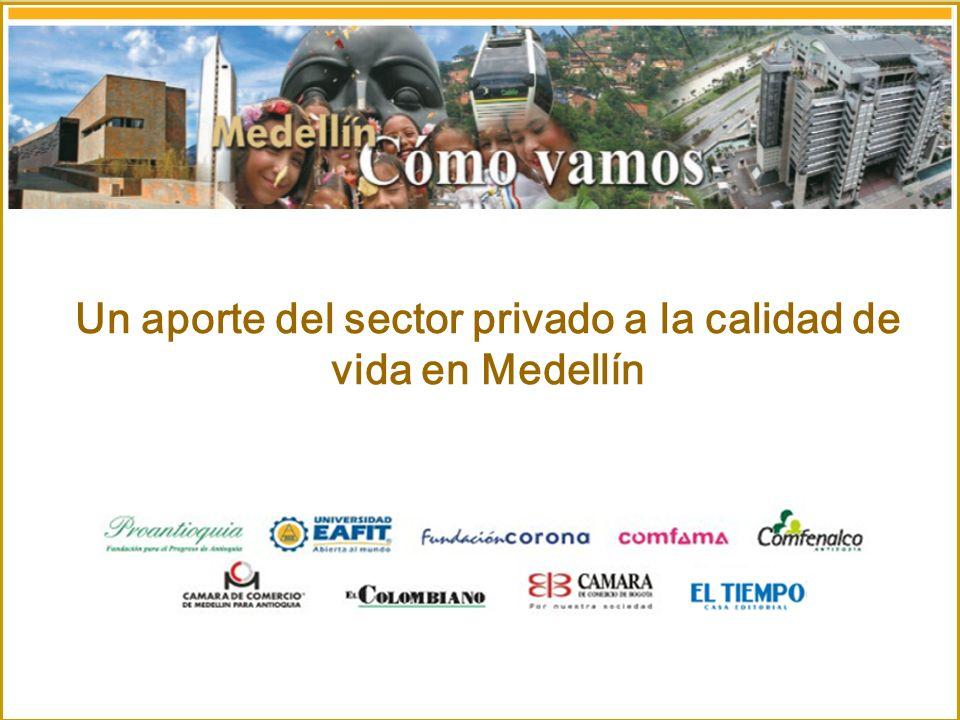 Marzo de 2006 Un aporte del sector privado a la calidad de vida en Medellín