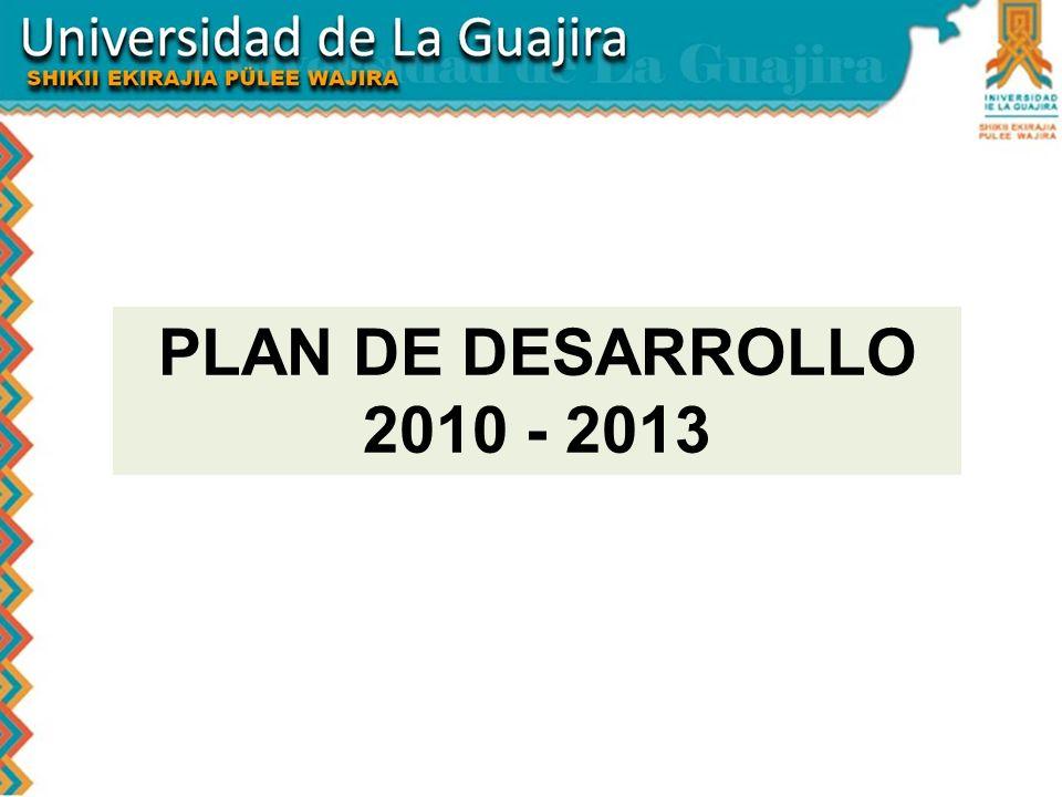 PLAN DE DESARROLLO 2010 - 2013