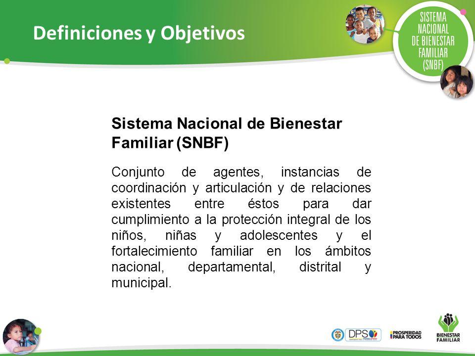 Conjunto de agentes, instancias de coordinación y articulación y de relaciones existentes entre éstos para dar cumplimiento a la protección integral d