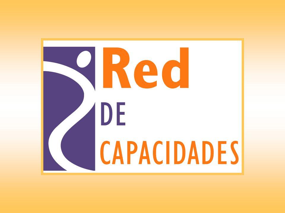 Objetivo Establecer y consolidar la Red de Capacidades.