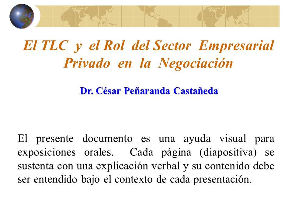 El presente documento es una ayuda visual para exposiciones orales.