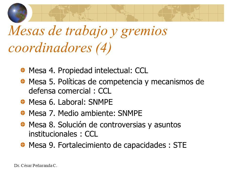 Mesa 4.Propiedad intelectual: CCL Mesa 5.