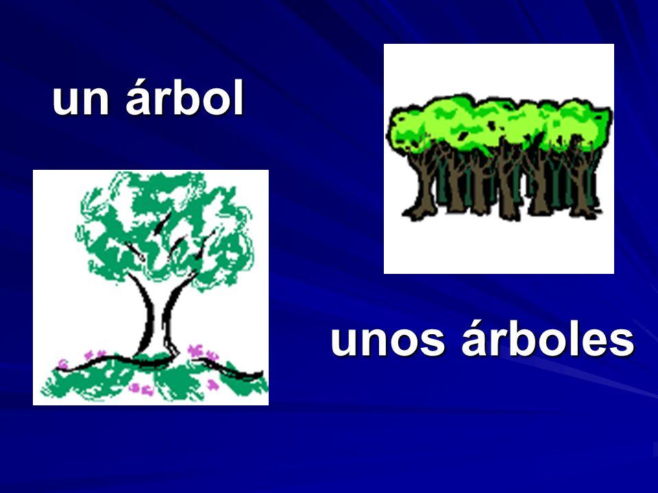 unos árboles