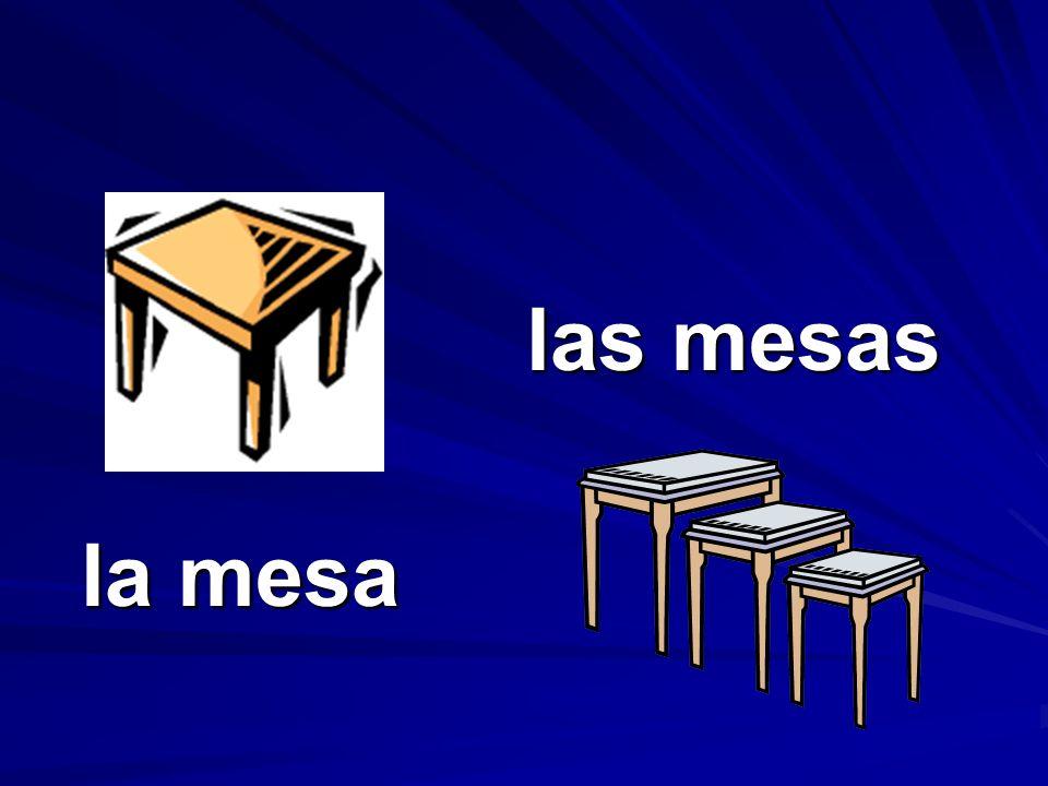 las mesas