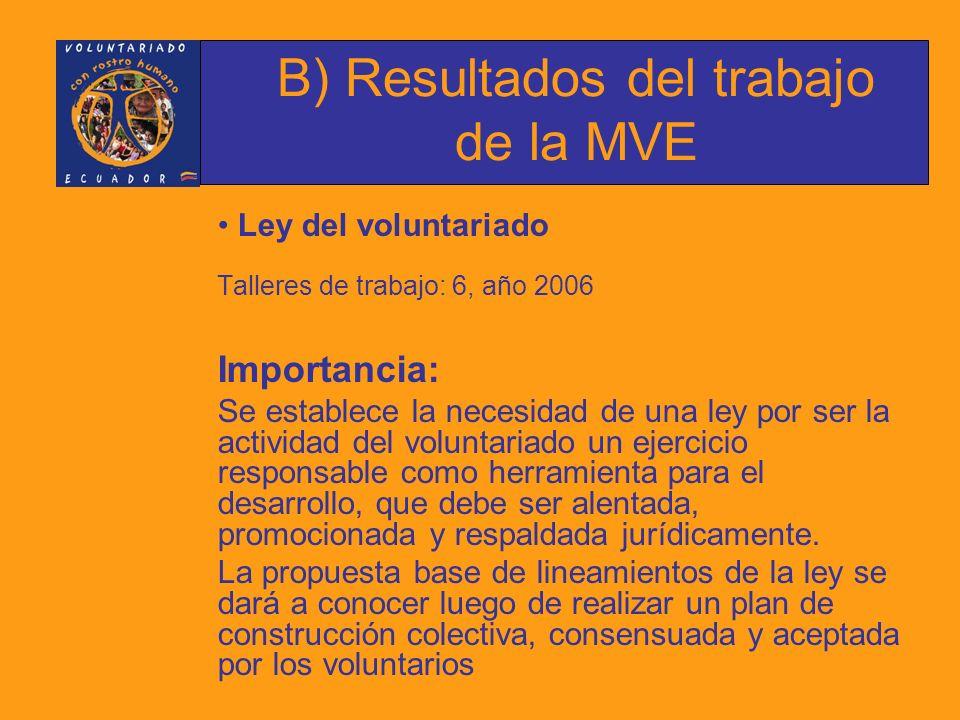 METAS 2007 MVE 1.Consolidar los procesos y estructura interna.