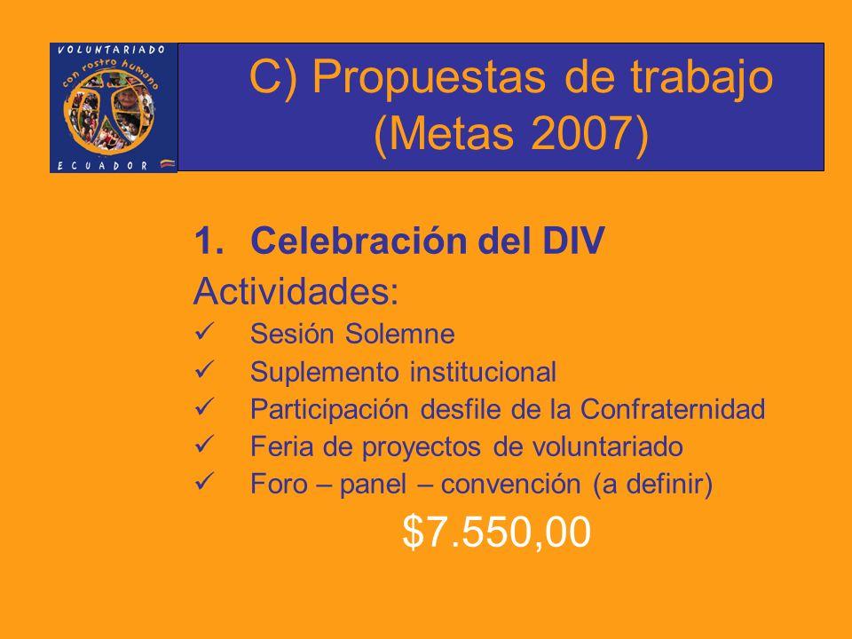 2.Promover y publicar una investigación sobre la situación del voluntariado en Ecuador.