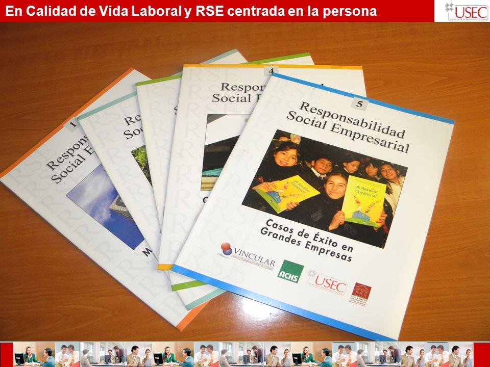 En Calidad de Vida Laboral y RSE centrada en la persona