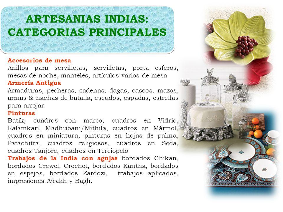 EXPORTACIONES DE ARTESANIAS INDIA