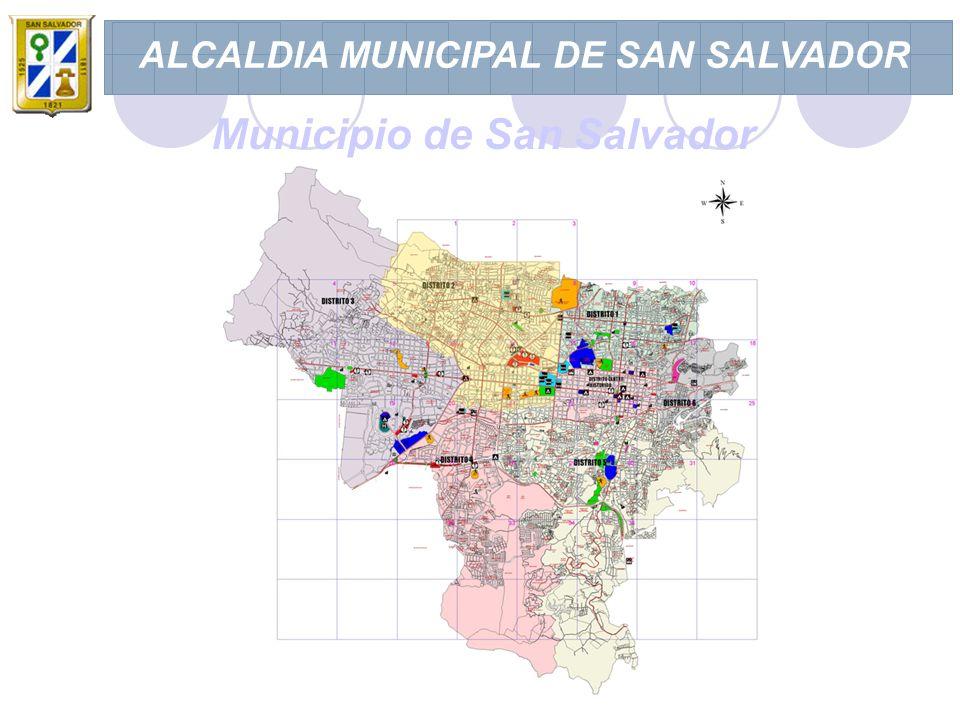 ALCALDIA MUNICIPAL DE SAN SALVADOR Municipio de San Salvador