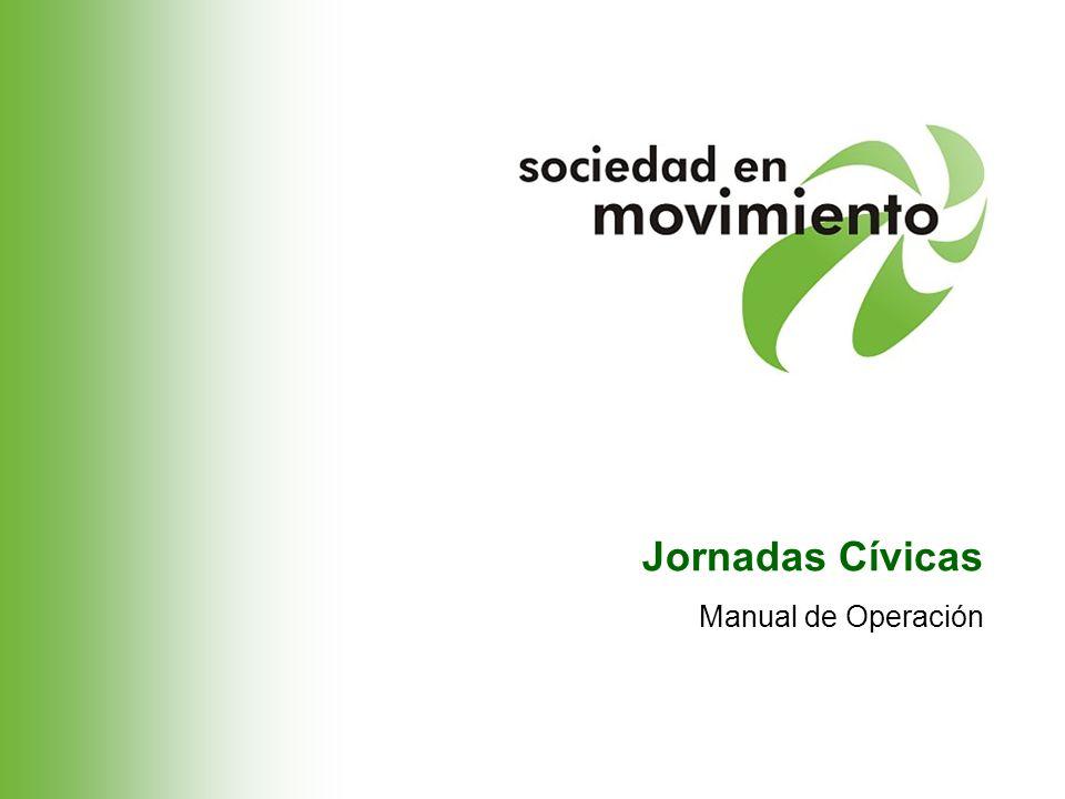 Jornadas Cívicas Manual de Operación