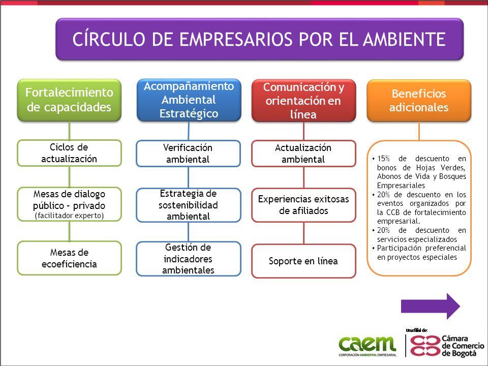 Fortalecimiento de capacidades Fortalecimiento de capacidades Ciclos de actualización Mesas de dialogo público – privado (facilitador experto) Mesas d