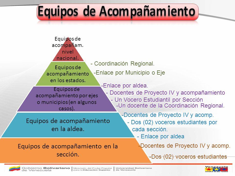 Es Importante la selección de los profesores de Proyecto, de Acompañamiento de las electivas A y B y de los Voceros de Sección (en todos los trayectos) COMPROMETIDOS COMPROMETIDOS RESPONSABLES RESPONSABLES ÉTICOS ÉTICOS