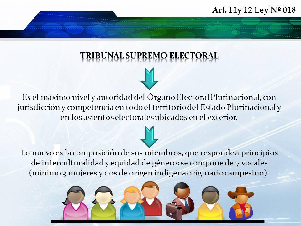 Lo nuevo es la composición de sus miembros, que responde a principios de interculturalidad y equidad de género: se compone de 7 vocales (mínimo 3 muje