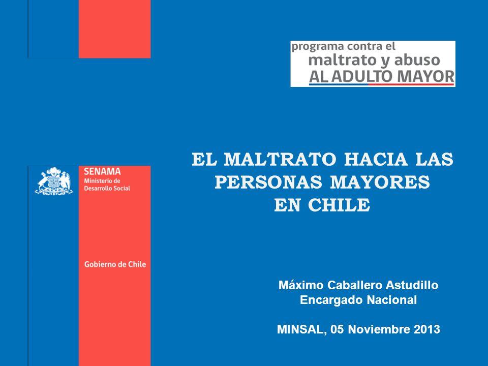 TIPOLOGIAS DE MALTRATO AL ADULTO MAYOR, DESDE SENAMA: