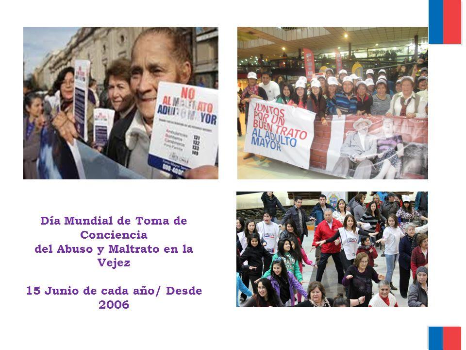 Día Mundial de Toma de Conciencia del Abuso y Maltrato en la Vejez 15 Junio de cada año/ Desde 2006