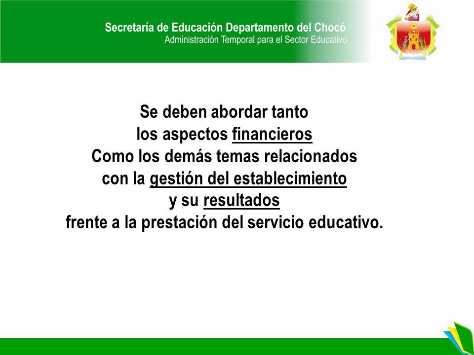 Énfasis de Política Educativa Sugeridos: CIERRE DE BRECHAS CALIDAD INNOVACIÓN Y PERTINENCIA MODELO DE GESTIÓN