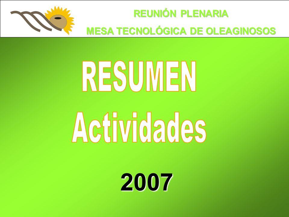 Conformación Consorcio 2007 El Escribano Dr.