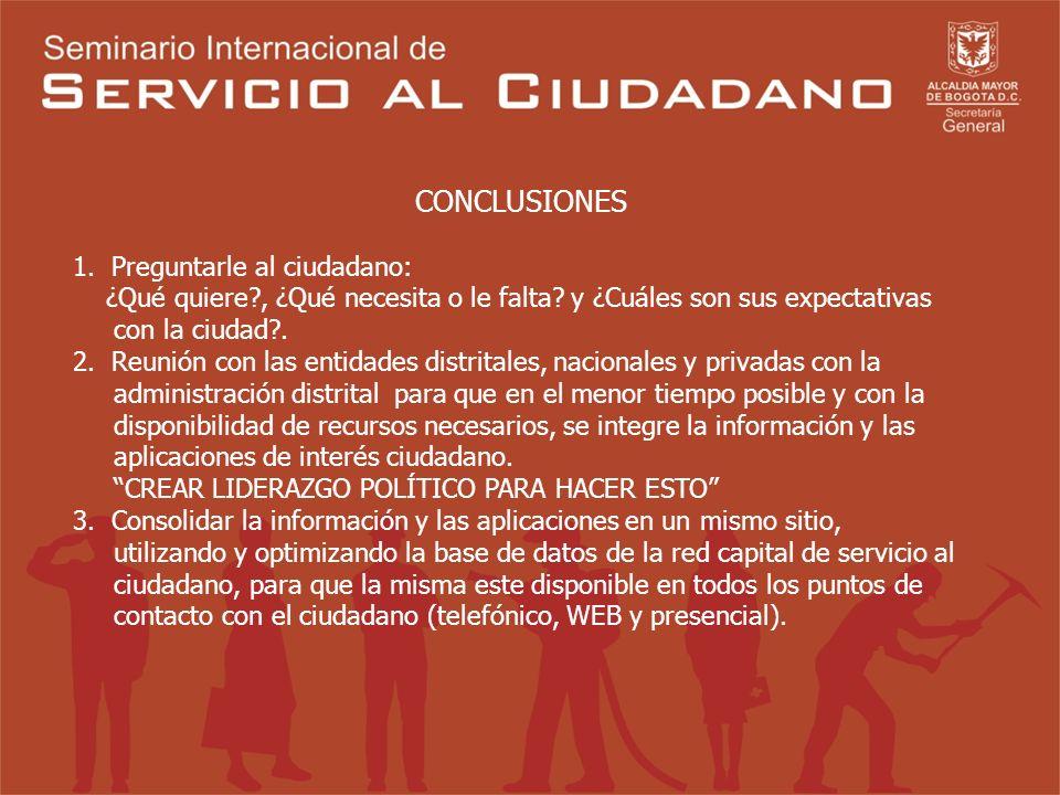 MESA DE TRABAJO No. 1 UN SISTEMA INTEGRAL DE SERVICIO AL CIUDADANO Coordinador: Dr. Miguel Angel Blesa