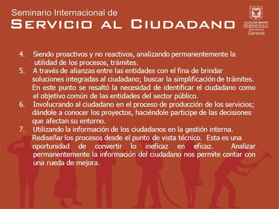 CONCLUSIONES En primer lugar se resaltó la diferencia en la prestación del servicio en el sector público y en el sector privado. Mientras en el sector