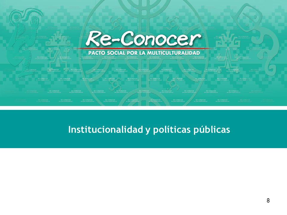 8 Institucionalidad y políticas públicas Seminario