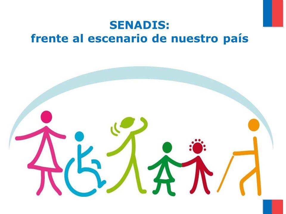 Personas con Discapacidad en Chile 9 Gobierno de Chile | Servicio Nacional de la Discapacidad Fuente: ENDISC I, 2004 1 de cada 8 Personas vive con Discapacidad En Chile 2.068.072 de Personas tienen algún tipo de Discapacidad