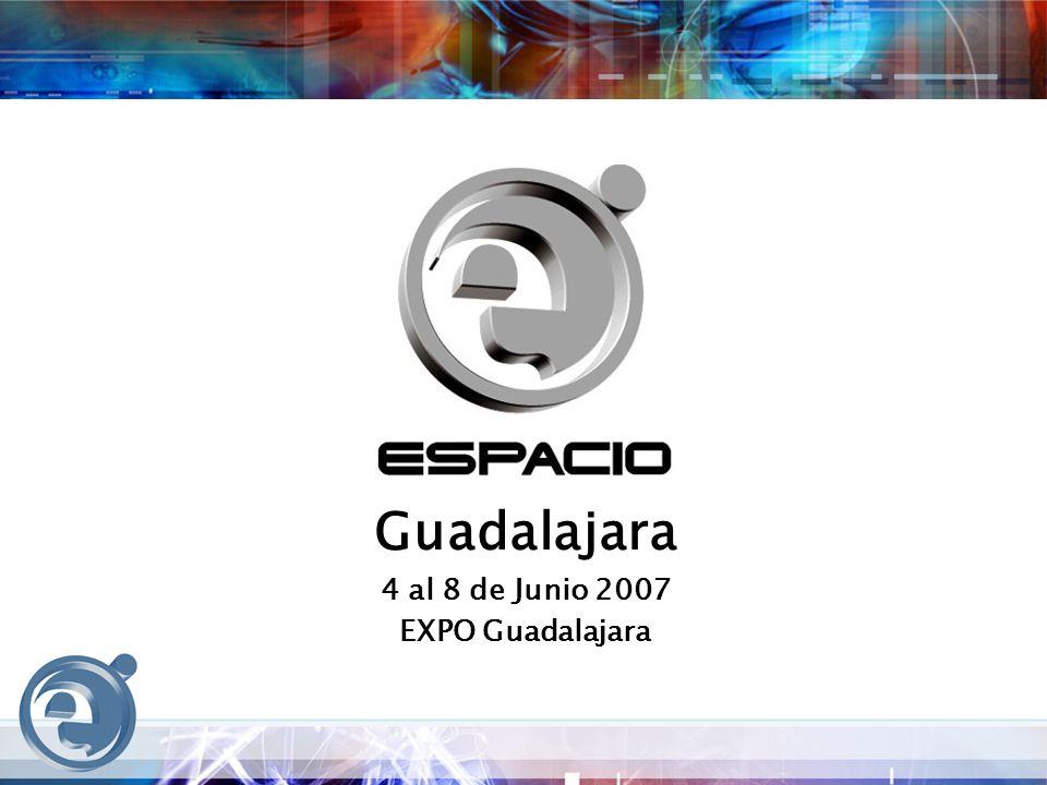 Guadalajara 4 al 8 de Junio 2007 EXPO Guadalajara