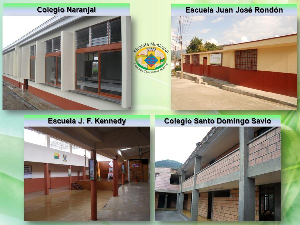 Colegio Naranjal Escuela Juan José Rondón Escuela J. F. Kennedy Colegio Santo Domingo Savio