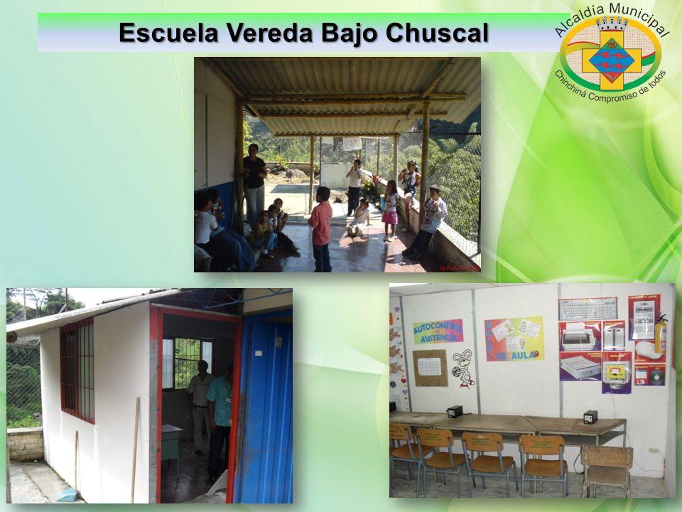 Dotación Escuelas Escuela Vereda Buena Vista Colegio Naranjal: Nevecón Restaurante y 100 sillas universitarias y 50 silla del SENA.