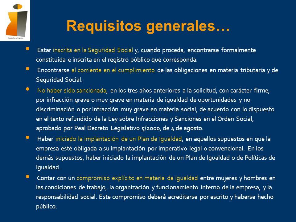 Estar inscrita en la Seguridad Social y, cuando proceda, encontrarse formalmente constituida e inscrita en el registro público que corresponda. Encont