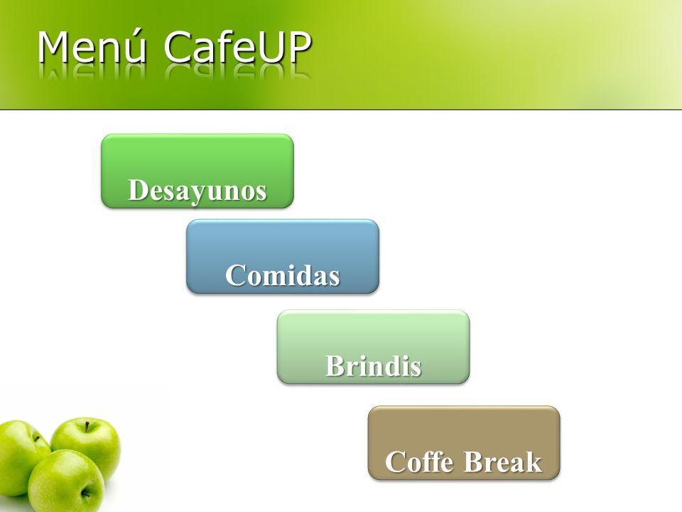 Desayunos Coffe Break Coffe Break Coffe Break Coffe Break Brindis Comidas
