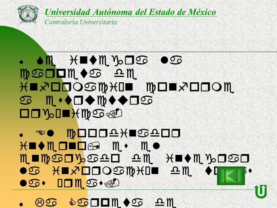 Se integra la carpeta de información conforme a estructura orgánica. El coordinador interno, es el encargado de integrar la información de todas las á