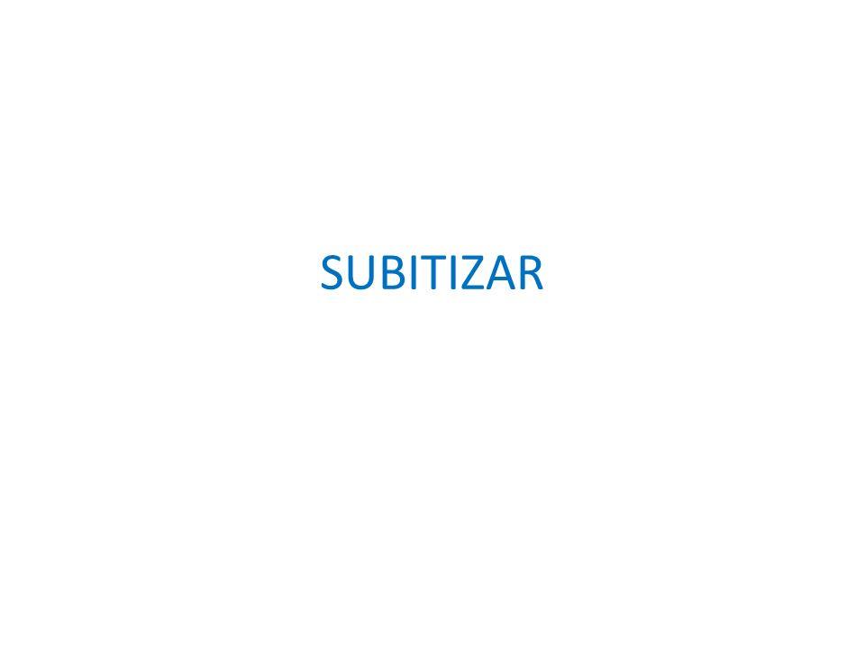 SUBITIZAR