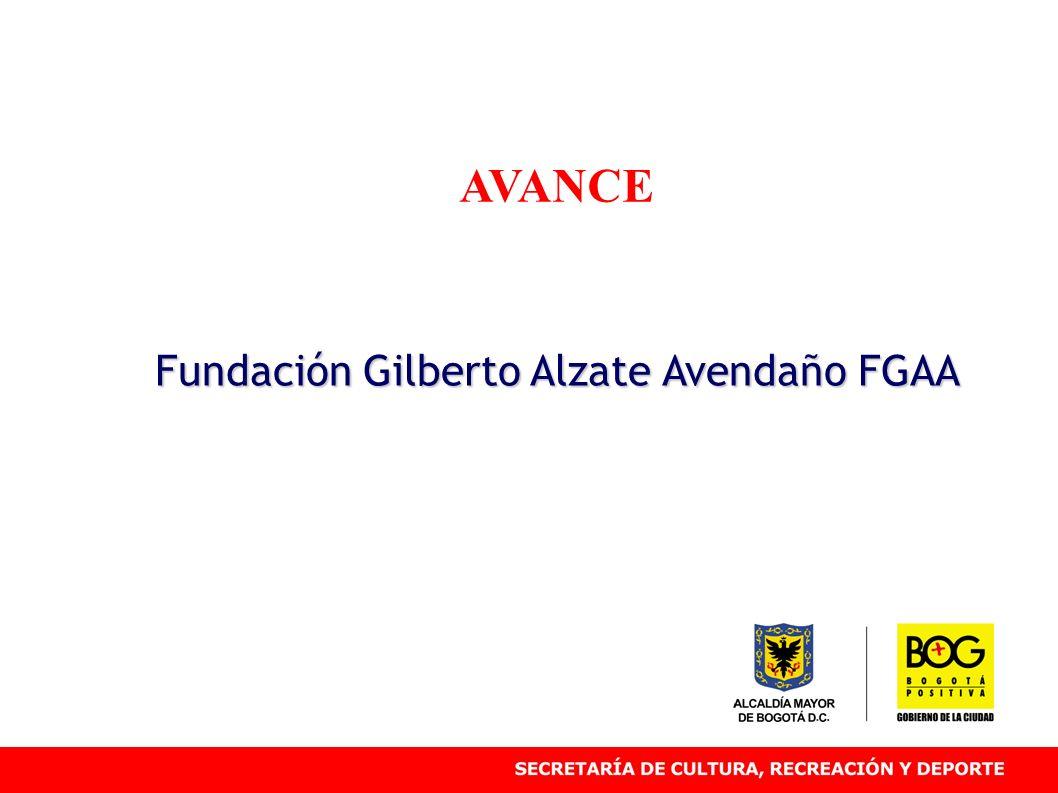 AVANCE Fundación Gilberto Alzate Avendaño FGAA