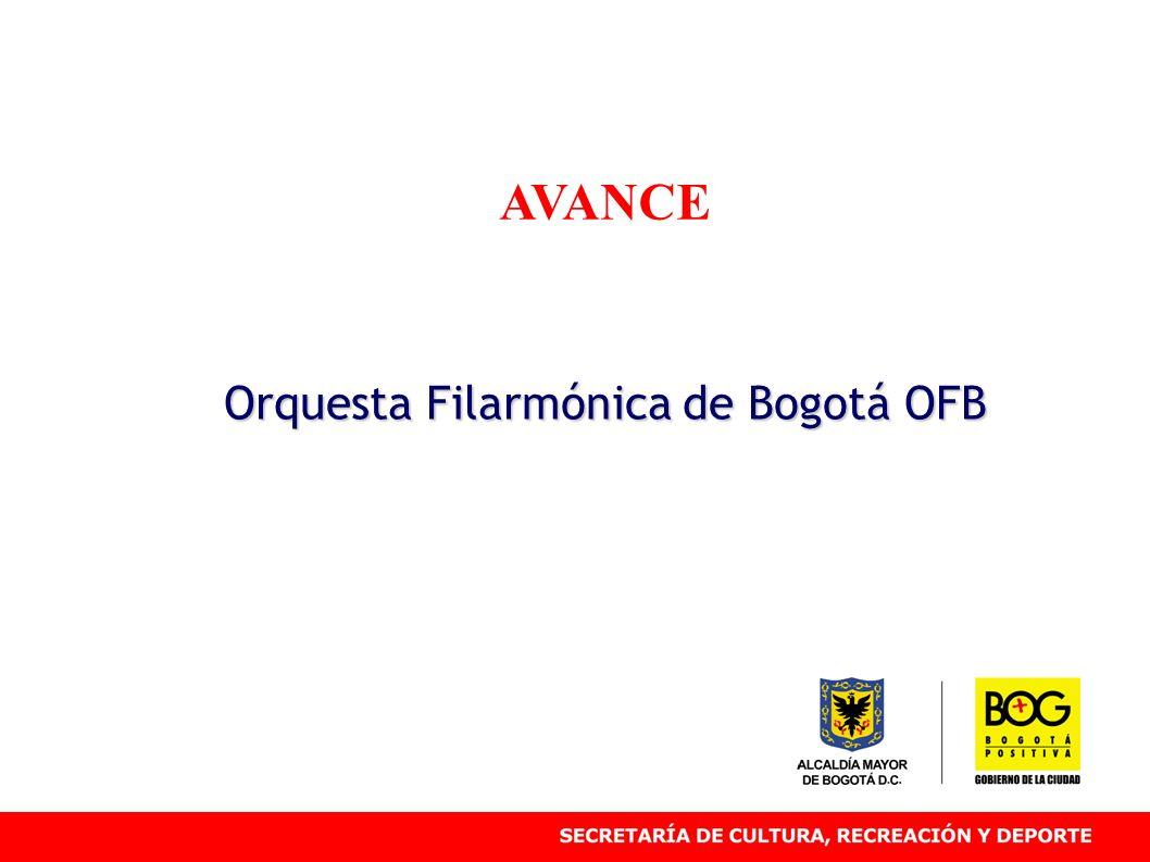 AVANCE Orquesta Filarmónica de Bogotá OFB