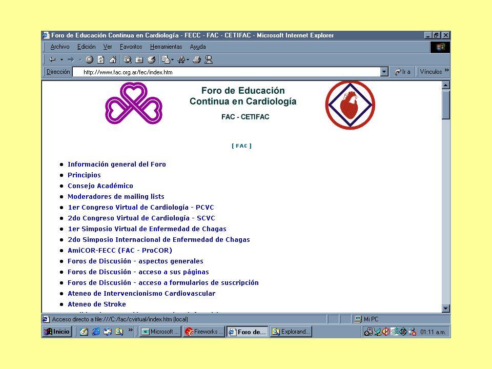 Y obtener orientación desde otras mailing lists del Foro