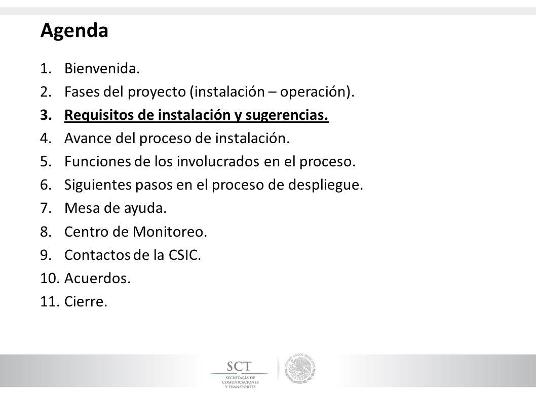 Acreditación del personal del proveedor El Proveedor, deberá asegurar que sus instaladores porten los siguientes documentos para acreditarse y así tener acceso a los sitios adjudicados: 1.