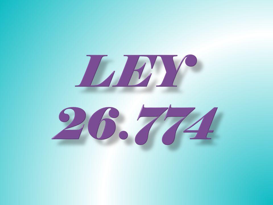 La ley 26.774 posibilita votar a partir de los 16 años para que los jóvenes también sean participes en las decisiones del pueblo y elegir a los representantes que quieren para el país en los próximos años.