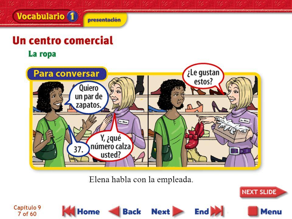 Capítulo 9 7 of 60 Elena habla con la empleada.