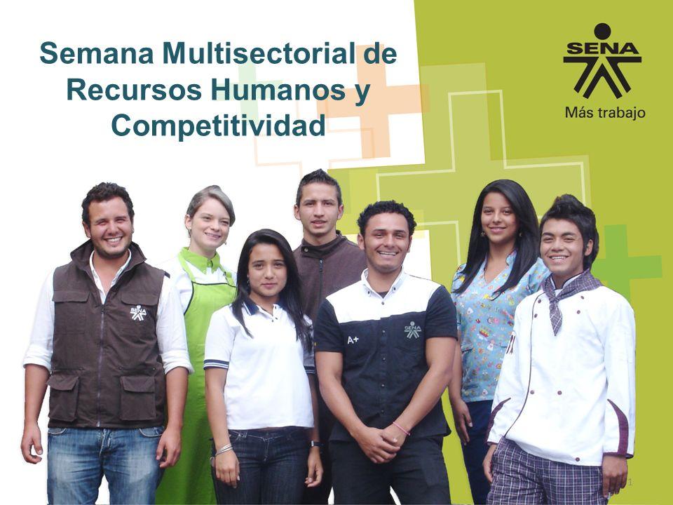 Semana Multisectorial de Recursos Humanos y Competitividad 1