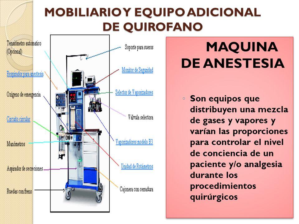 MAQUINA DE ANESTESIA Vaporizadores.