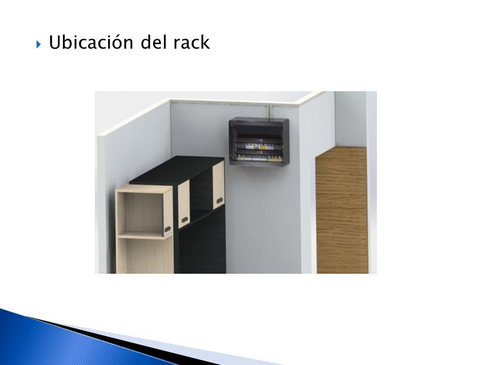 Ubicación del rack