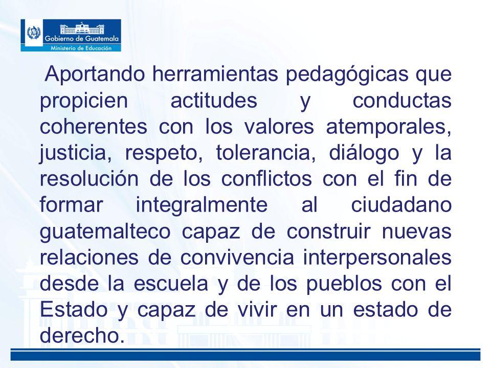 Resultados físicos Orientaciones de Desarrollo Curricular De Educación para la Paz y Vida Plena ODEC.
