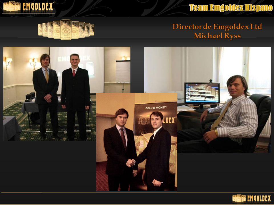 Director de Emgoldex Ltd Michael Ryss